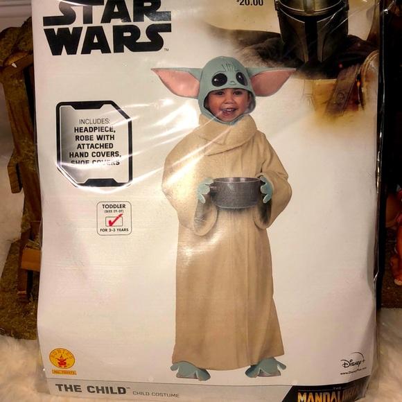Disney Costumes The Child Baby Yoda Costume From Mandalorian Poshmark